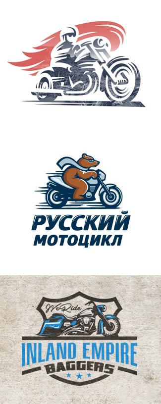摩托车logo创意设计图片欣赏